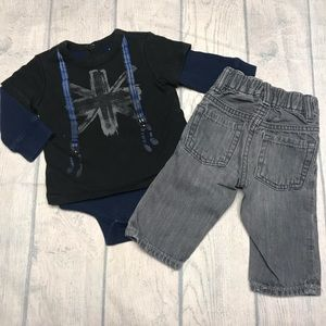 EUC Baby GAP Outfit